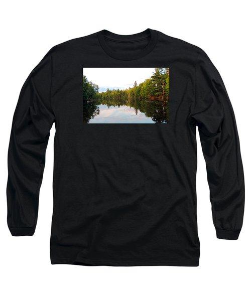 Morning Reflection Long Sleeve T-Shirt by Teresa Schomig