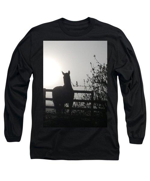 Morning Silhouette #1 Long Sleeve T-Shirt