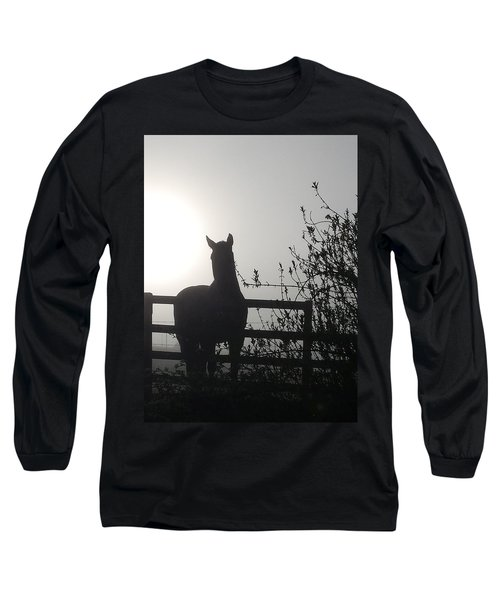 Morning Silhouette #1 Long Sleeve T-Shirt