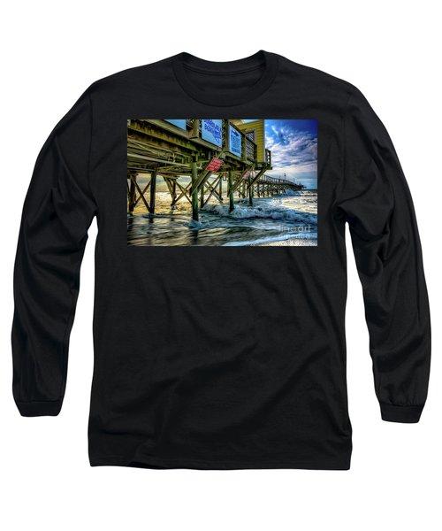 Morning Sun Under The Pier Long Sleeve T-Shirt