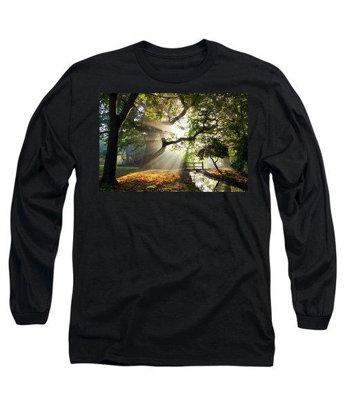 Morning Sunrise In Hampden Park Long Sleeve T-Shirt