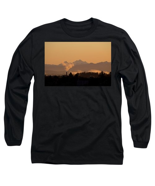 Long Sleeve T-Shirt featuring the photograph Morning View by Evgeny Vasenev