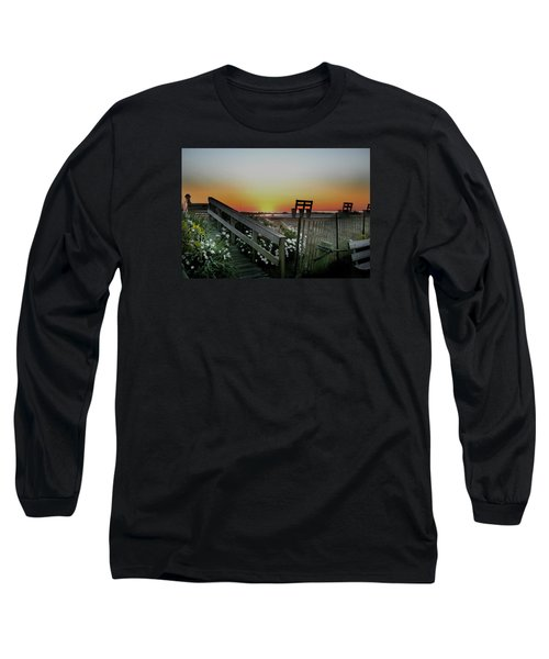 Morning View  Long Sleeve T-Shirt by Skip Willits