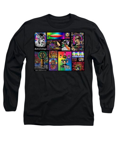 Mosaic Of Retrocollage I Long Sleeve T-Shirt