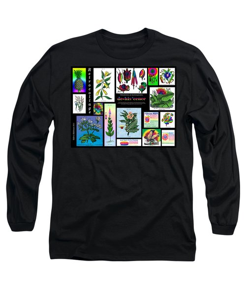 Mosaic Of Retrocollage II Long Sleeve T-Shirt