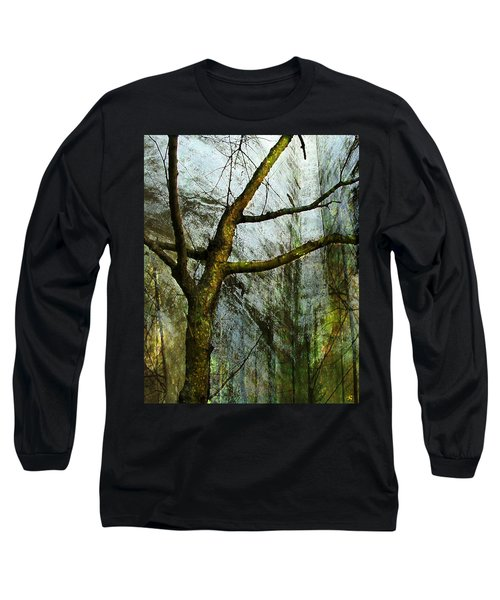 Moss On Tree Long Sleeve T-Shirt
