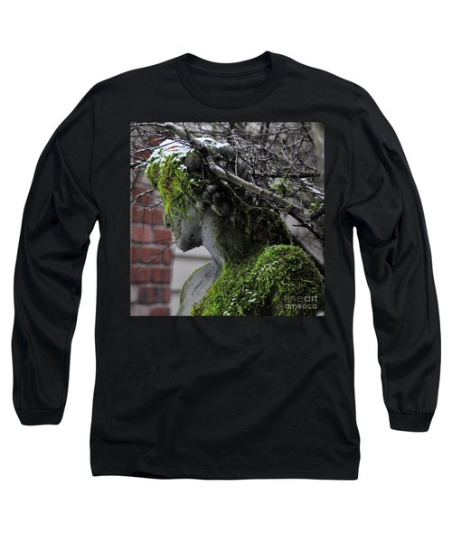 Long Sleeve T-Shirt featuring the photograph Mossy Bacchus by Tanya Searcy