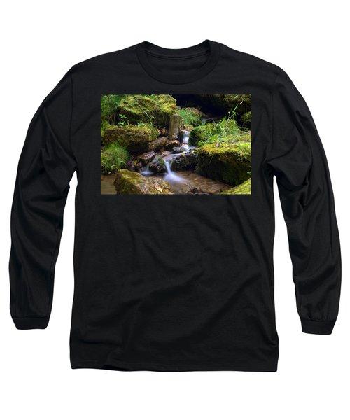 Mossy Glenn Spring 2 Long Sleeve T-Shirt by Bonfire Photography
