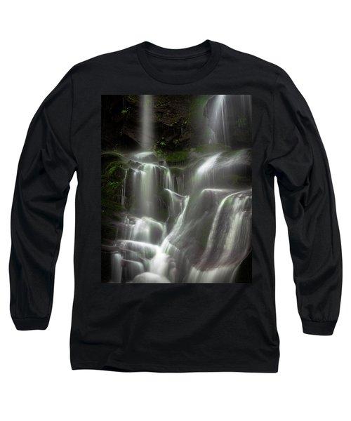 Mossy Waterfall Long Sleeve T-Shirt