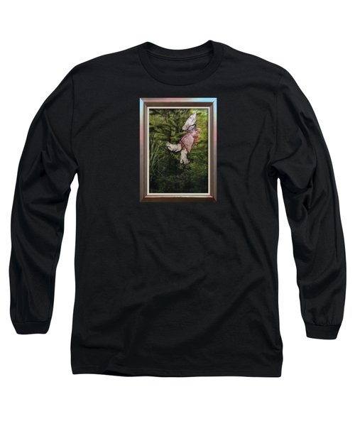 Mother And Daughter One Long Sleeve T-Shirt by Stan  Magnan