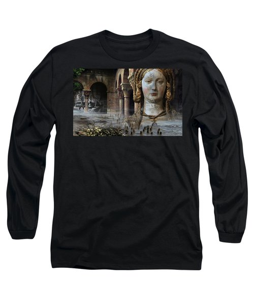 Mother Earth Long Sleeve T-Shirt by Yvonne Wright