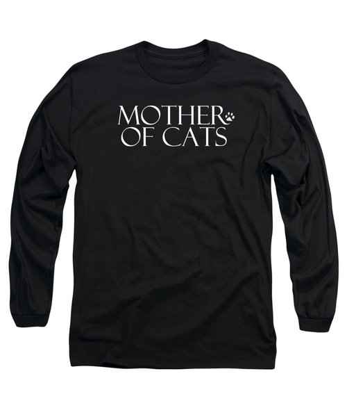 Mother Of Cats- By Linda Woods Long Sleeve T-Shirt