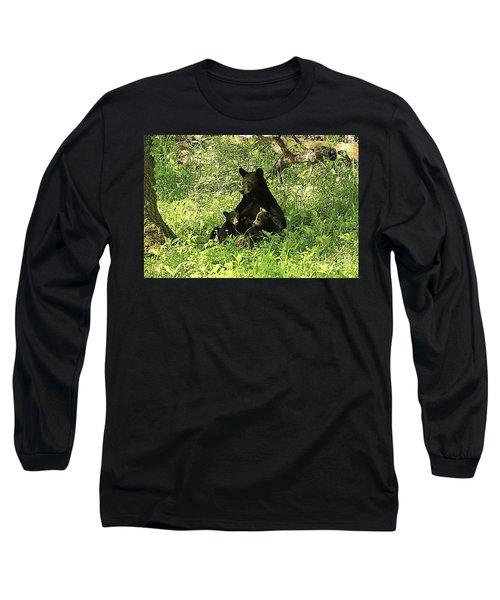 Mother's Love Long Sleeve T-Shirt by Geraldine DeBoer