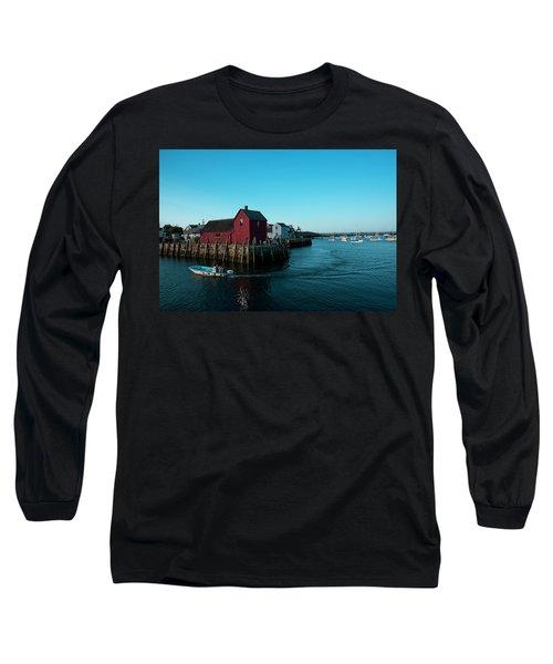 Motif Number 1 Closeup Long Sleeve T-Shirt