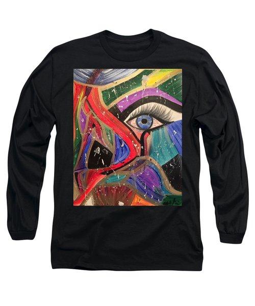Motley Eye Long Sleeve T-Shirt