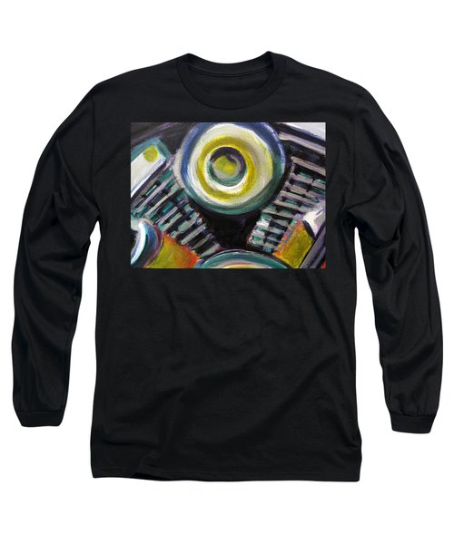 Motorcycle Abstract Engine 2 Long Sleeve T-Shirt