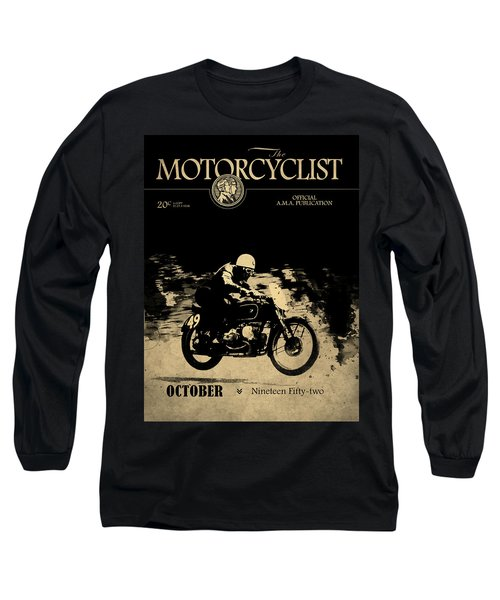 Motorcycle Magazine Bmw Racing Team 1952 Long Sleeve T-Shirt