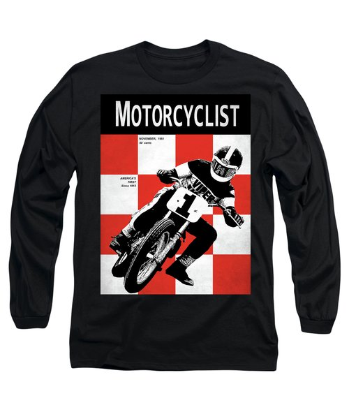 Motorcycle Magazine Number One 1961 Long Sleeve T-Shirt