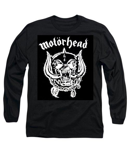 Motorhead Long Sleeve T-Shirt by Gina Dsgn