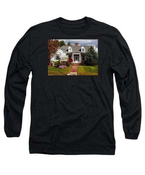 Moultonborough Public Library Long Sleeve T-Shirt by Nancy De Flon