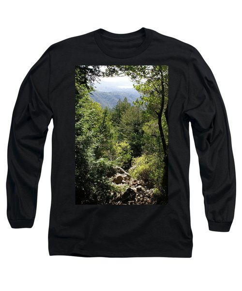 Mount Tamalpais Forest View Long Sleeve T-Shirt