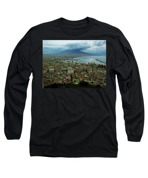 Mount Vesuvius Naples It Long Sleeve T-Shirt