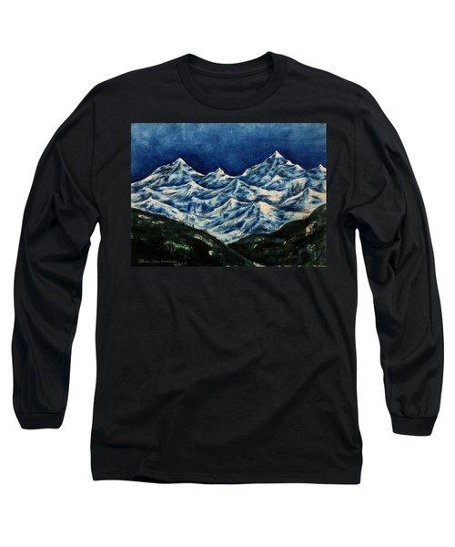 Mountain-2 Long Sleeve T-Shirt