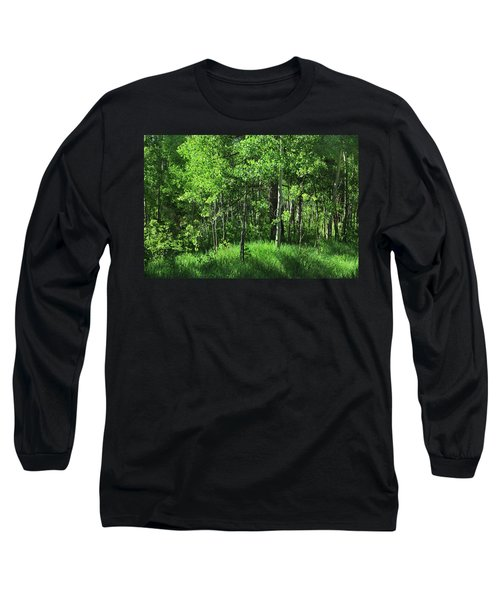 Mountain Greenery Long Sleeve T-Shirt