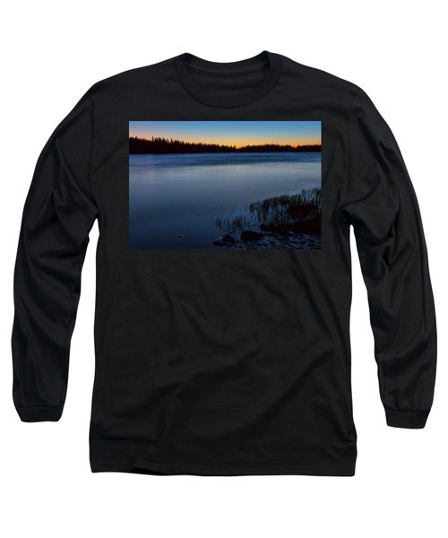 Long Sleeve T-Shirt featuring the photograph Mountain Lake Glow by James BO Insogna