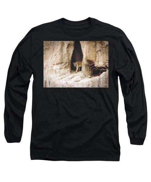 Mountain Lion - Light Long Sleeve T-Shirt