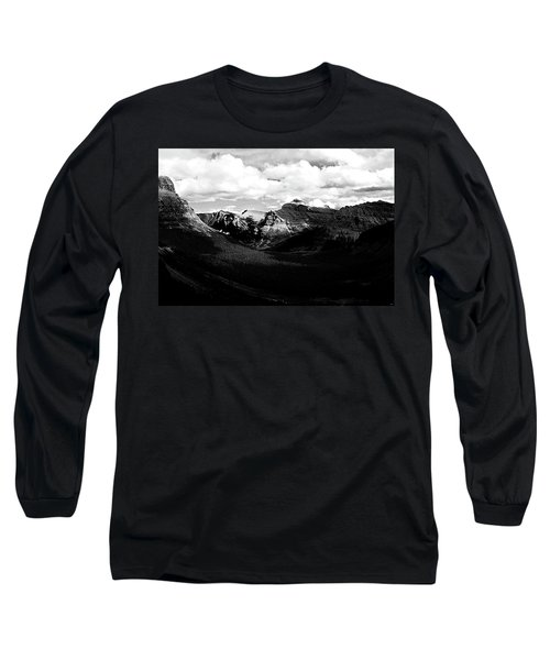 Mountain Valley Landscape Long Sleeve T-Shirt