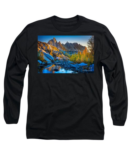 Mountainous Paradise Long Sleeve T-Shirt