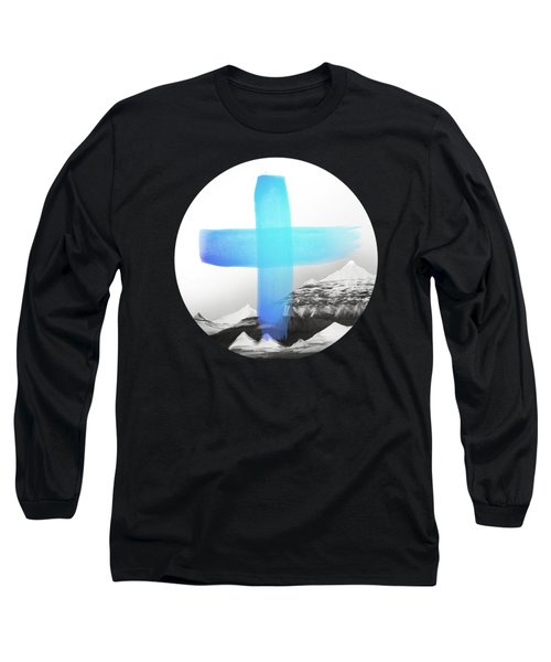 Mountains Long Sleeve T-Shirt by Amy Hamilton