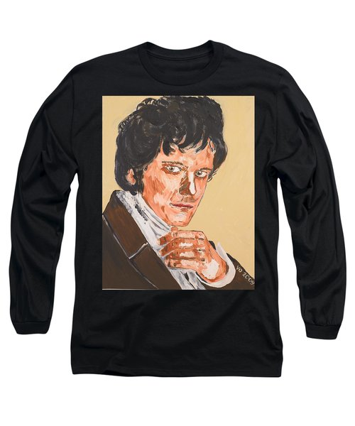 Mr. Darcy Long Sleeve T-Shirt by Valerie Ornstein