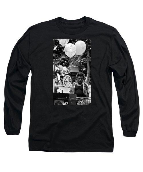 Mr. Fiesta Long Sleeve T-Shirt by David Gilbert