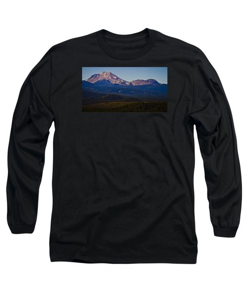 Mt Lassen And Chaos Crags Long Sleeve T-Shirt by Albert Seger