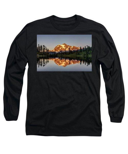 Mt Shuksan Reflection Long Sleeve T-Shirt