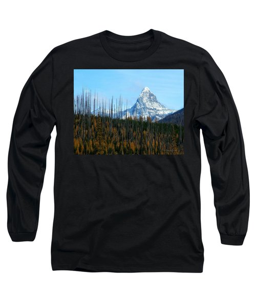 Mt St Nicolas After The Fire Long Sleeve T-Shirt