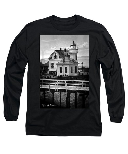 Long Sleeve T-Shirt featuring the photograph Mukilteo Lighthouse by Elf Evans