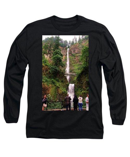 Multnomah Falls, Columbia River Gorge, Or Long Sleeve T-Shirt