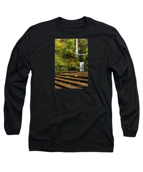Multnomah Falls,oregon Long Sleeve T-Shirt