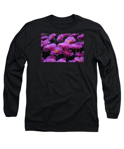 Mums The Word Long Sleeve T-Shirt by John S