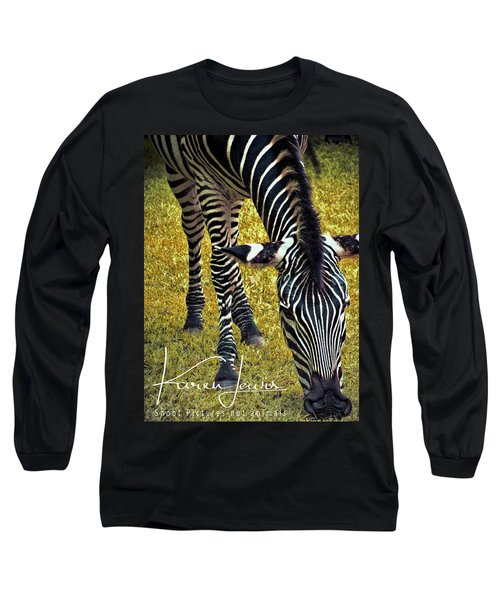 Long Sleeve T-Shirt featuring the photograph Munch Time by Karen Lewis