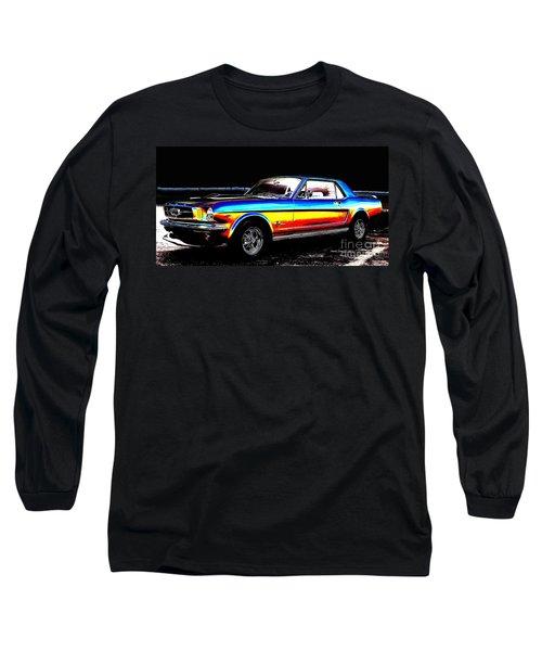 Muscle Car Mustang Long Sleeve T-Shirt