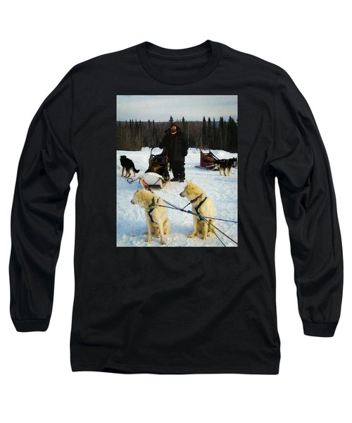 Long Sleeve T-Shirt featuring the photograph Musher by Timothy Bulone
