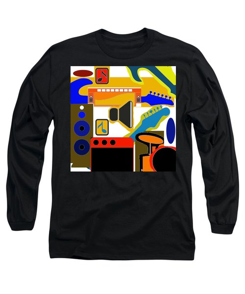 Music Collage Long Sleeve T-Shirt