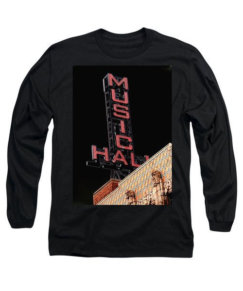 Music Hall Sign Long Sleeve T-Shirt