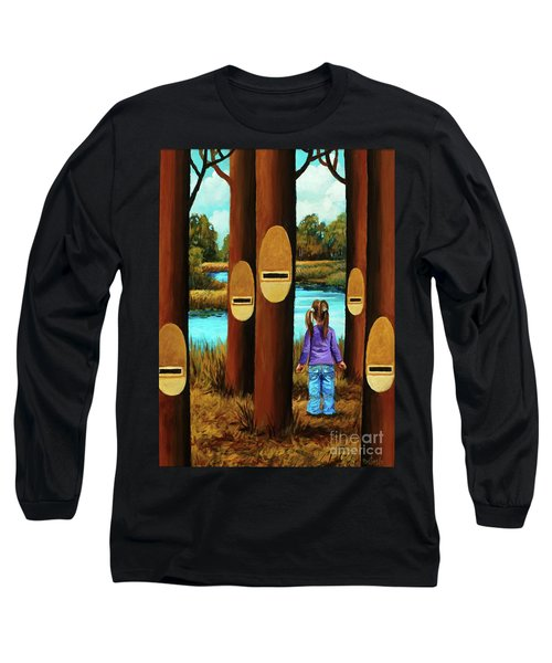 Music Of Forest Long Sleeve T-Shirt
