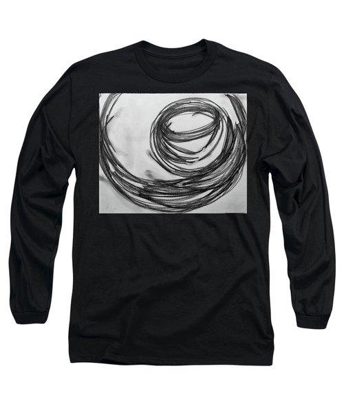 Music Sketch Study Leon Bridges Long Sleeve T-Shirt