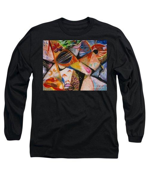 Musical Pastels Long Sleeve T-Shirt